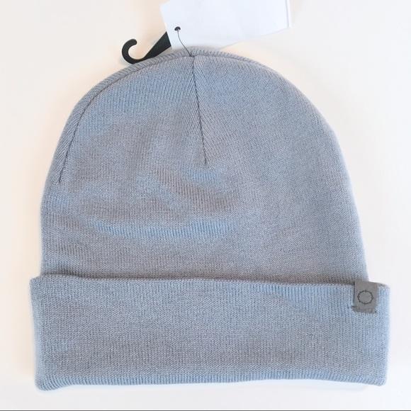 25b05a26a ZUMIEZ EMPYRE Sterling Blue Beanie Hat NWT